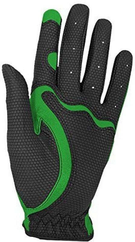 Fit39 EX Golf Gloves (XL, Black, Green)