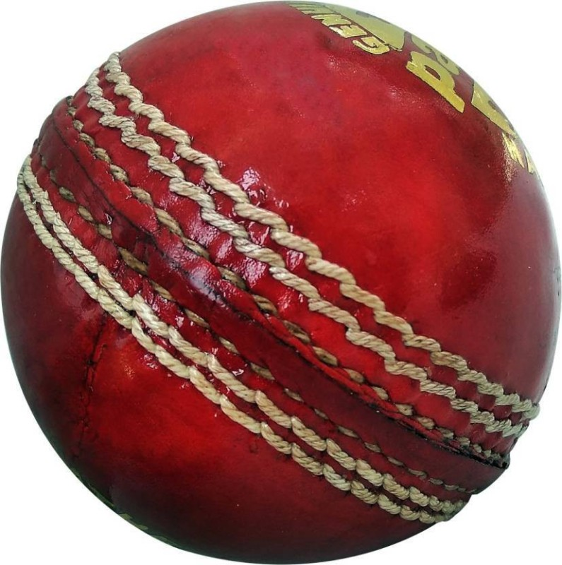 IKIGAI Pack of 12 Cricket Leather Ball(Pack of 12, Red)