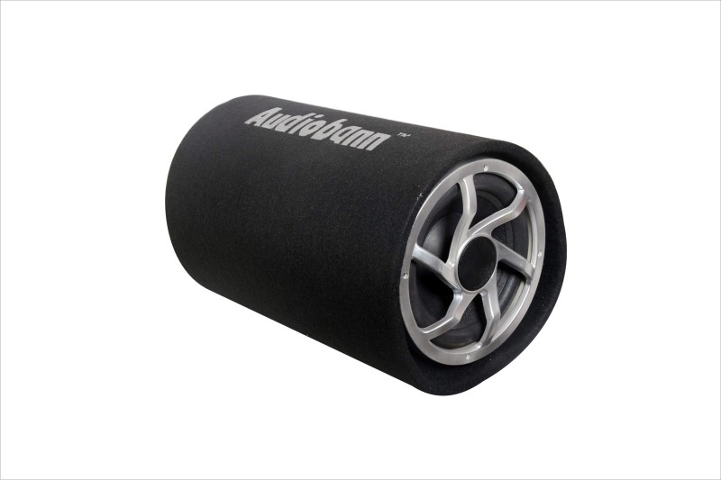 Audiobann 8 Inch D shape Bass Tube (With In Built Amplifier) AB-BT-1008 Subwoofer(Powered , RMS Power: 250 W)