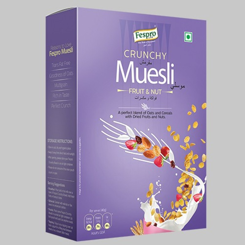 FESPRO MUESLI FRUIT & NUT BOX(180 g, Box)