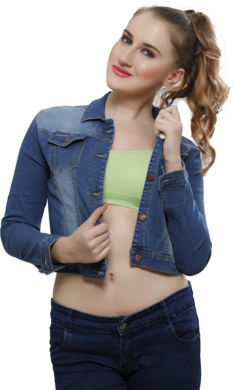 Nifty Full Sleeve Solid Women's Denim Jacket