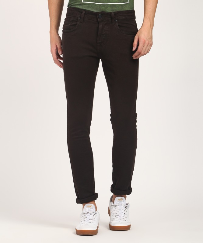 Killer Slim Men's Brown Jeans