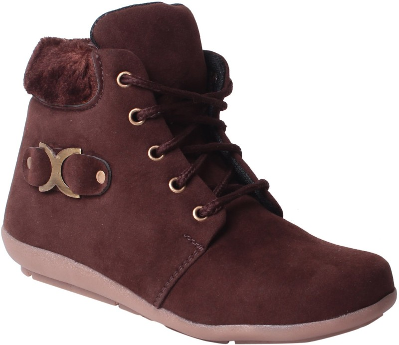 MSC Boots For Women(Maroon)