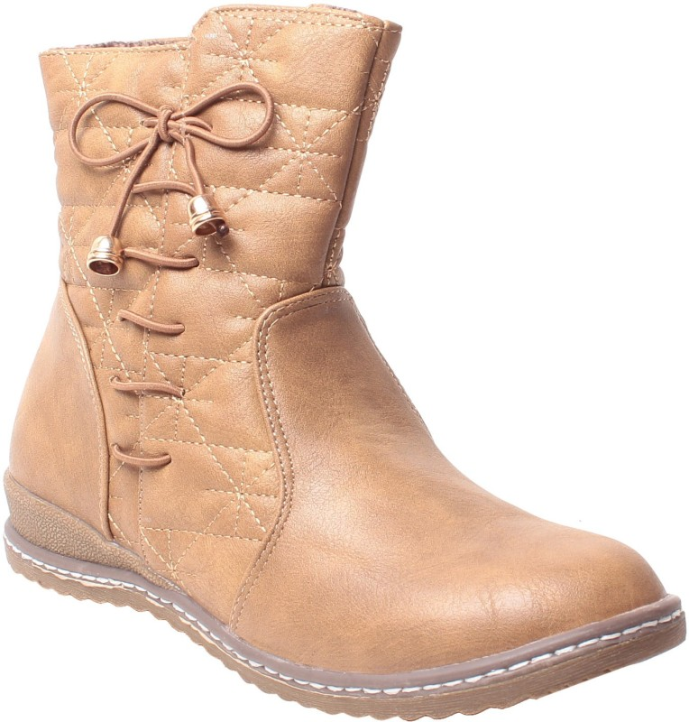 MSC Boots For Women(Beige)