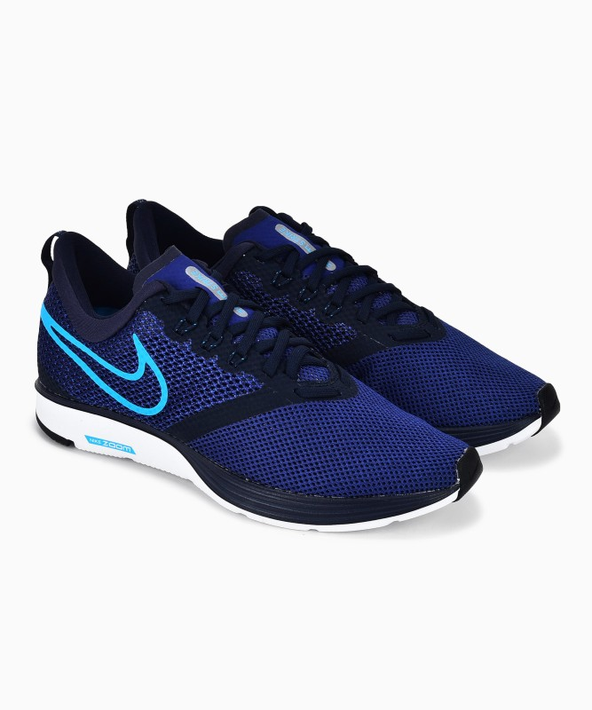 Nike ZOOM STRIKE Running Shoes For Men(Blue)