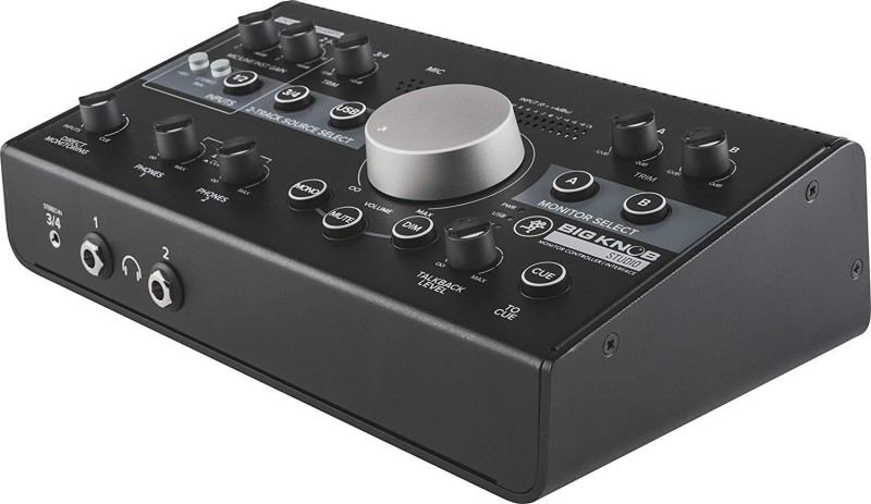Mackie BIG KNOB STUDIO Monitor Controller Interface Analog Sound Mixer