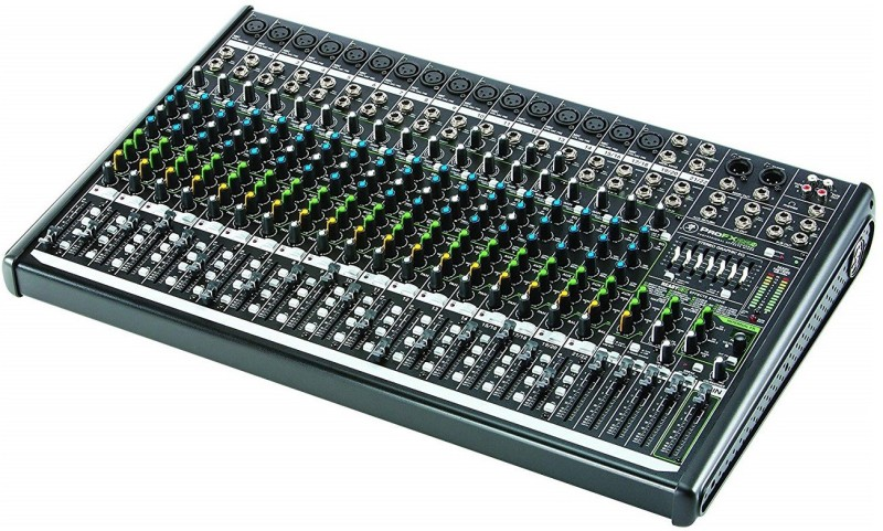 Mackie PROFX22V2 22-Channel 4-Bus Mixer, Black Wired DJ Controller