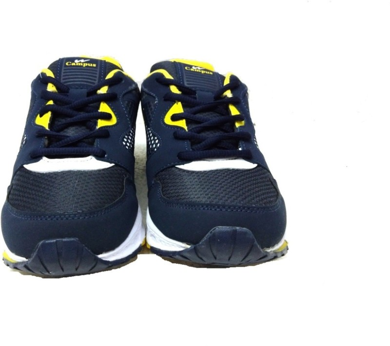 Campus Running Shoes For Men(Blue, Yellow)