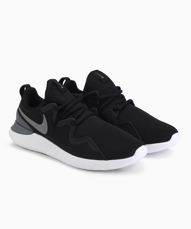 Nike TESSEN Running Shoes For Men(Black)