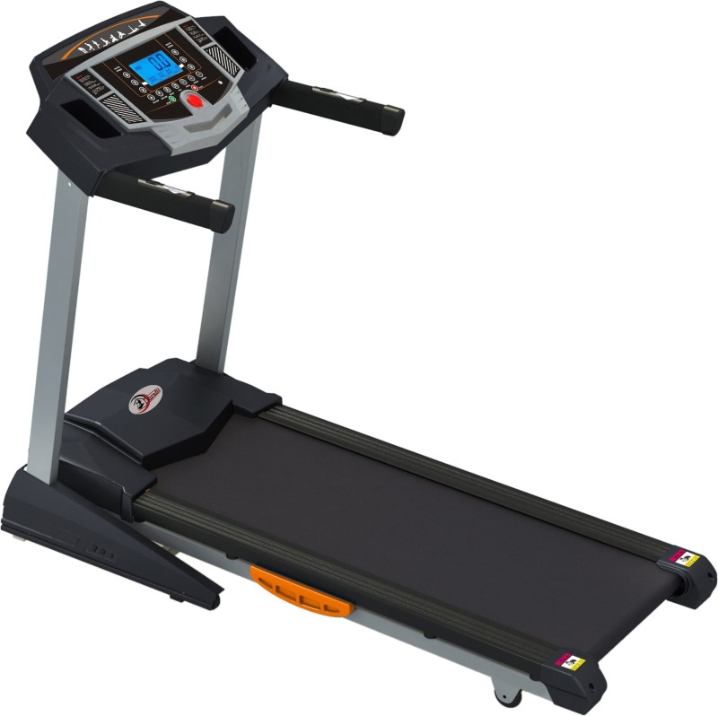 durafit Strong-Surge 2.0 HP (Peak 4.0 HP) Motorized Foldable Treadmill with Auto-Incline Treadmill
