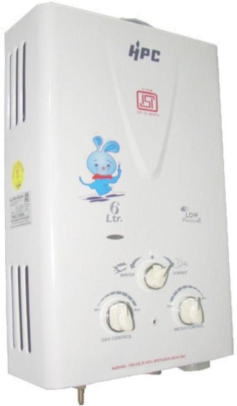 HPC 6 L Gas Water Geyser(White, Prince)