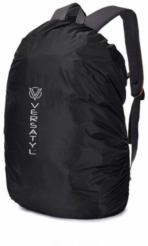 VERSATYL BLACK RAIN COVER Waterproof Laptop Bag Cover(50 L)