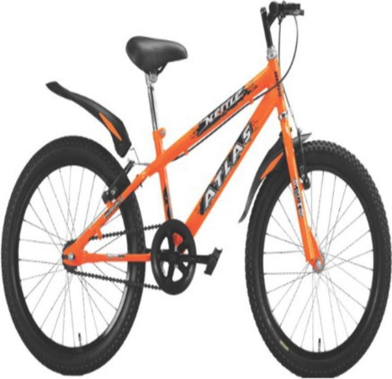 Atlas METTLE 20T 24 T Mountain Cycle(Single Speed, Orange, Black)