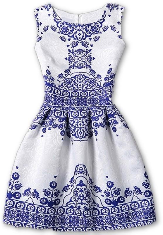 ANE Women A-line Blue Dress