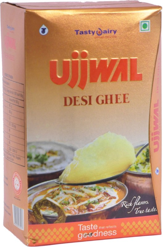 Tasty Dairy Specialities Ujjwal Desi Ghee 1 L Tetrapack