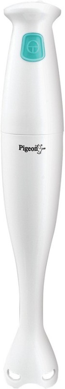 Pigeon Modern Cucina HB 1.0 150 W Hand Blender(White, Lagoon Green)