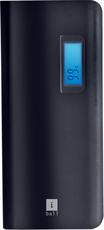 iBall 10000 mAh Power Bank (PB-10107)(Black, Grey, Lithium-ion)