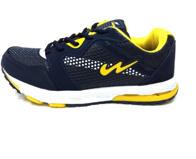 Campus 3G-8238 Blu/Ylw Running Shoes For Men(Blue, Yellow)