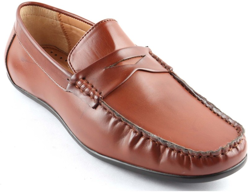 San Frissco Loafers For Men(Tan)