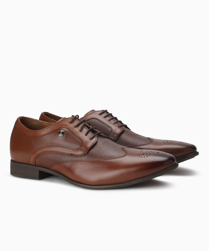 Hush Puppies Lace Up For Men(Brown)