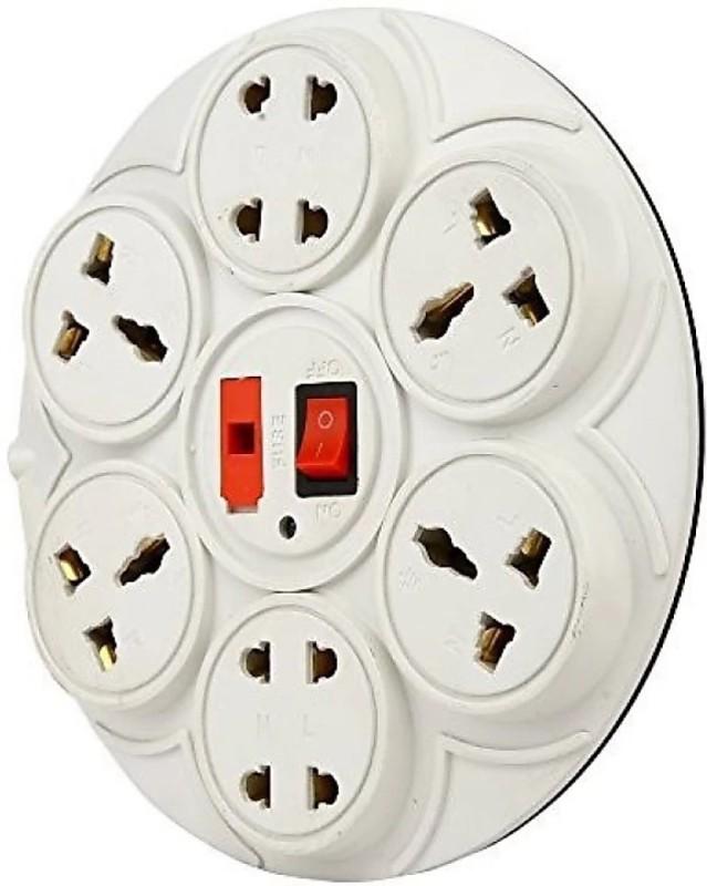 ALPHA.SM SOCKET SURGE PROTECTOR 8 Socket Surge Protector(Grey)