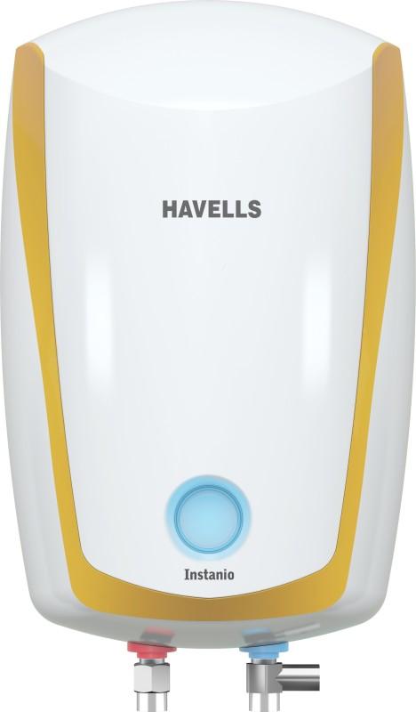 Havells 1 L Instant Water Geyser(White Mustard, Instanio)