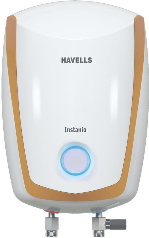 Havells 1 L Instant Water Geyser(White Mustard, 1L 4.5KW)