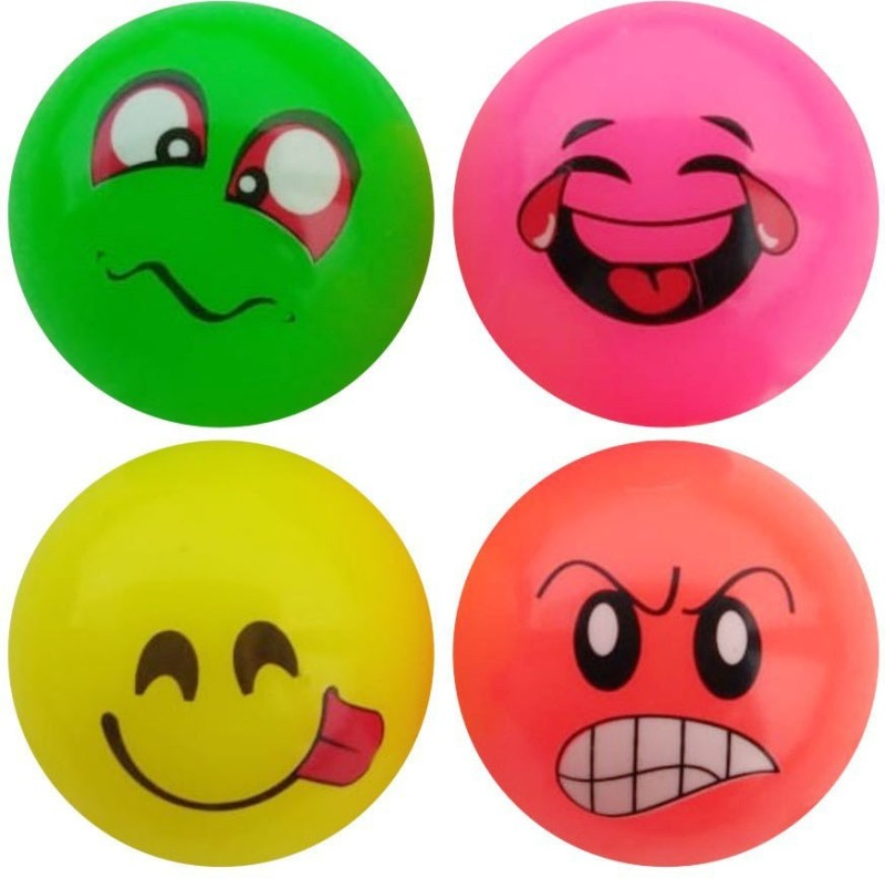 saeko Wind Ball with Fragrance, for Kids, Can be used as Stress Ball and Toy ball also Massage Ball(Pack of 4, Multicolor)