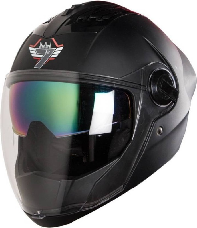 Steelbird AIR SBA-2 7Wings Motorbike Helmet(Black)