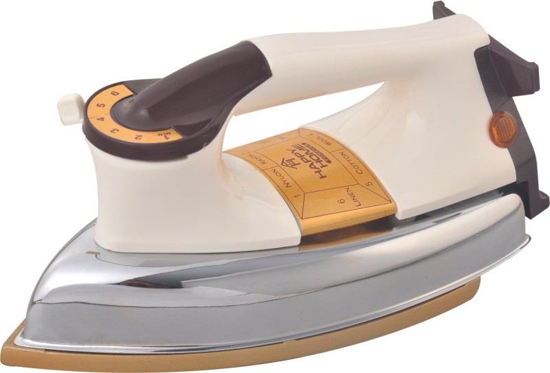 babrock Happy Home Automatic Heavy Weight Electric Iron Model Dry Iron(White)