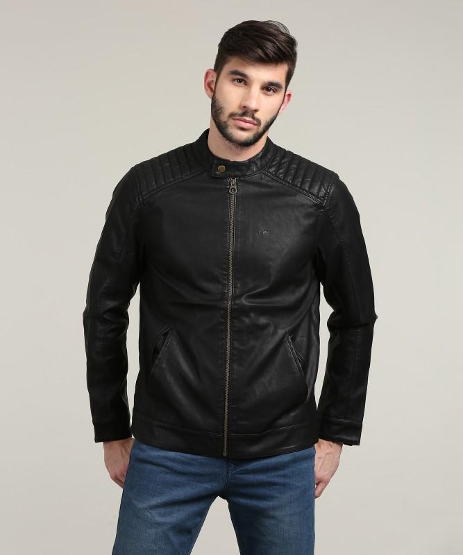 Lee Full Sleeve Solid Mens Jacket