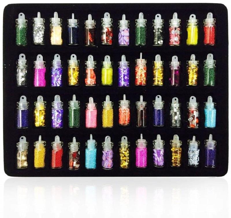 SYGA Nail Crystal Powder(Pack of 48)