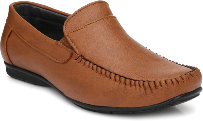 Fentacia Slip On For Men(Tan)