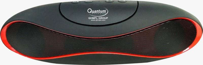 Quantum QHM6222 Bluetooth Speaker 3 Bluetooth Speaker(Black Red, Stereo Channel)