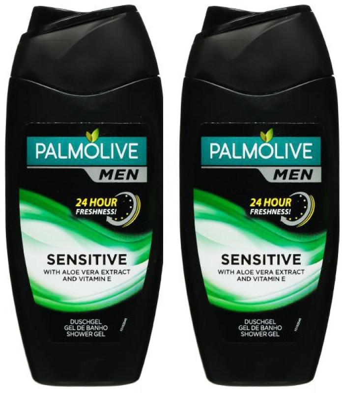 Palmolive Men Sensitive Imported Body Wash, 250ml (Pack Of 2)(500 ml, Pack of 2)