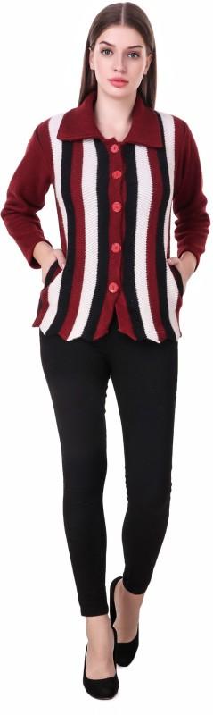 KRITIKA WORLD Womens Button Solid Cardigan