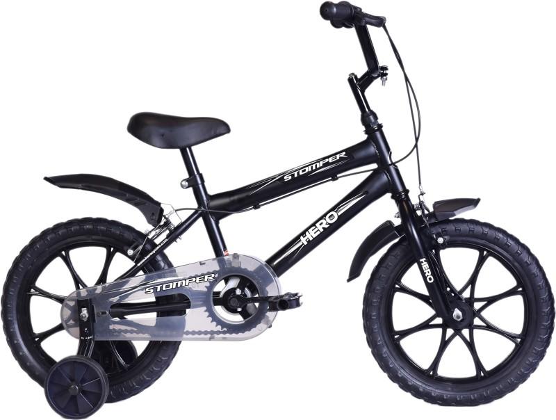 Hero Stomper 16 T Recreation Cycle(Single Speed, Black)