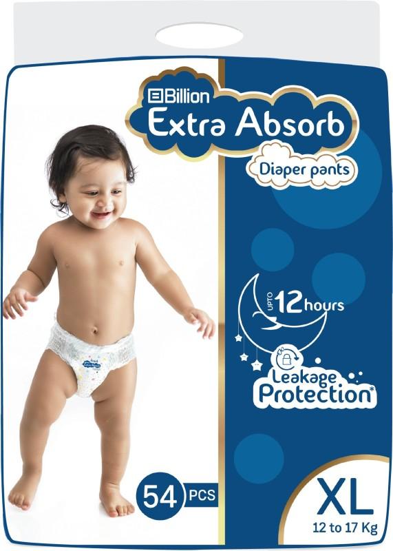 Billion Extra Absorb Diaper Pants - XL(54 Pieces)