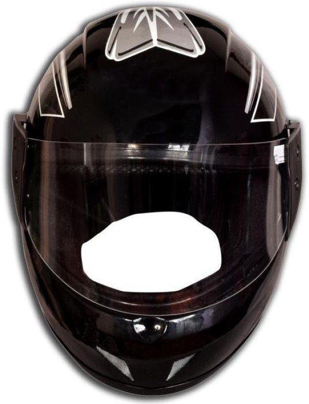 MOTOFLY Bedami Great Strong ( ISI APPROVED ) Motorbike Helmet(Black)