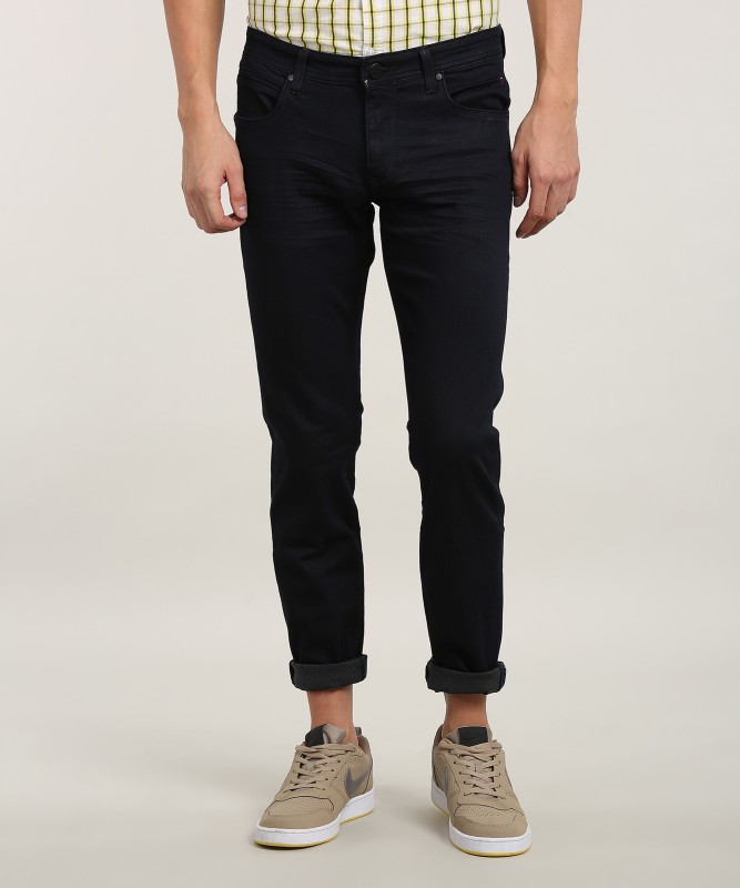LP Jeans by Louis Philippe Mens Black Jeans
