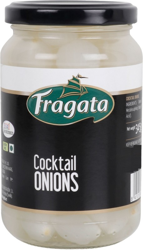 Fragata Spanish Preserved Cocktail Onions Onion Pickle(345 g)
