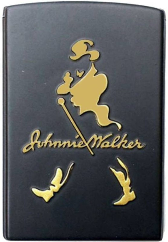BISMAADH JOHNNY WALKER POCKET LIGHTER Pocket Lighter(BLACK)