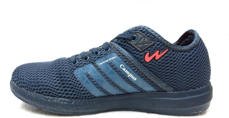 Campus Battle AF.BLU Running Shoes For Men(Blue)