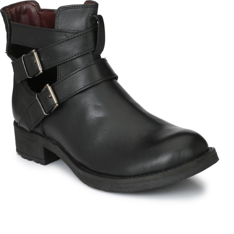 Delize Boots For Women(Black)