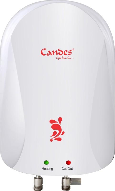 Candes 3 L Instant Water Geyser(Ivory, 3Ltr Storage Water Geyser ABS)