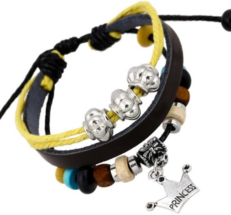 fashion for sure Leather Charm Bracelet