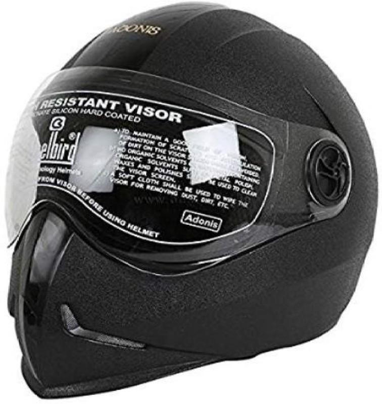 Steelbird Sb-50 Adonis Dashing Motorsports Helmet(Black/Black)