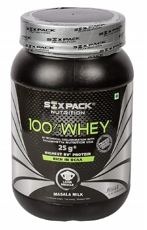 SIX PACK NUTRITION Masala Milk 100% Whey Protein(1 kg, Masala Milk)