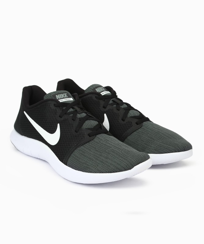 Nike FLEX CONTACT 2 Running Shoe For Men(Black, Grey)
