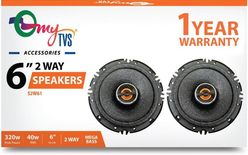 myTVS S2W61 6 2 Way Car Speaker Tweeter Car Speaker(320 W)